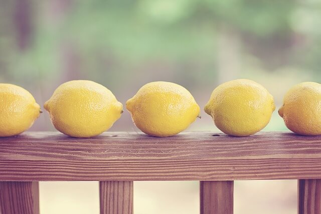 Benefits of lemons