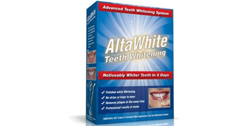 Alta white teeth whitener