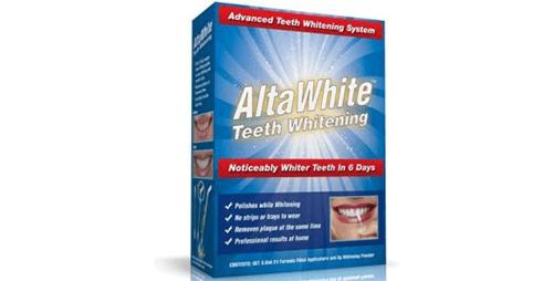 Alta white teeth whitener