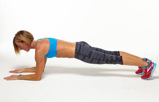 Forearm plan exercise benefits