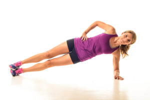 Side plank exercise benefits