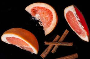 Grapefruit and cinnamon juice