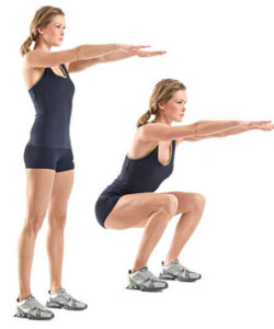 Squat best exercises for weight loss