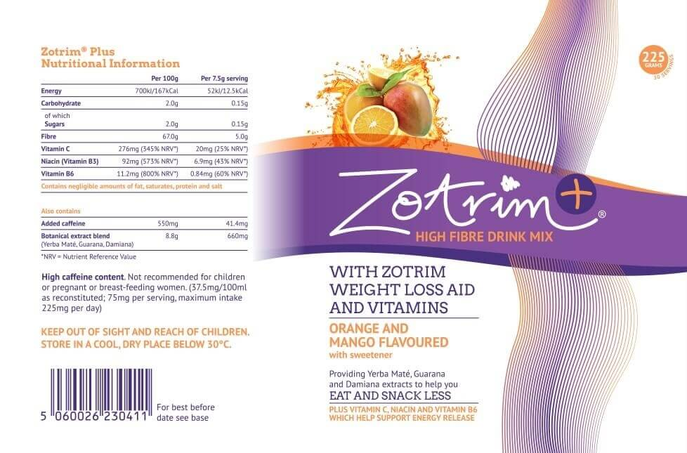 Zotrim ingredients