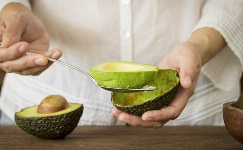 Eating avocado for weight loss